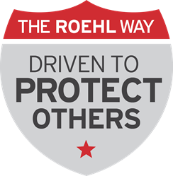 The Roehl Way of Protective Driving logo