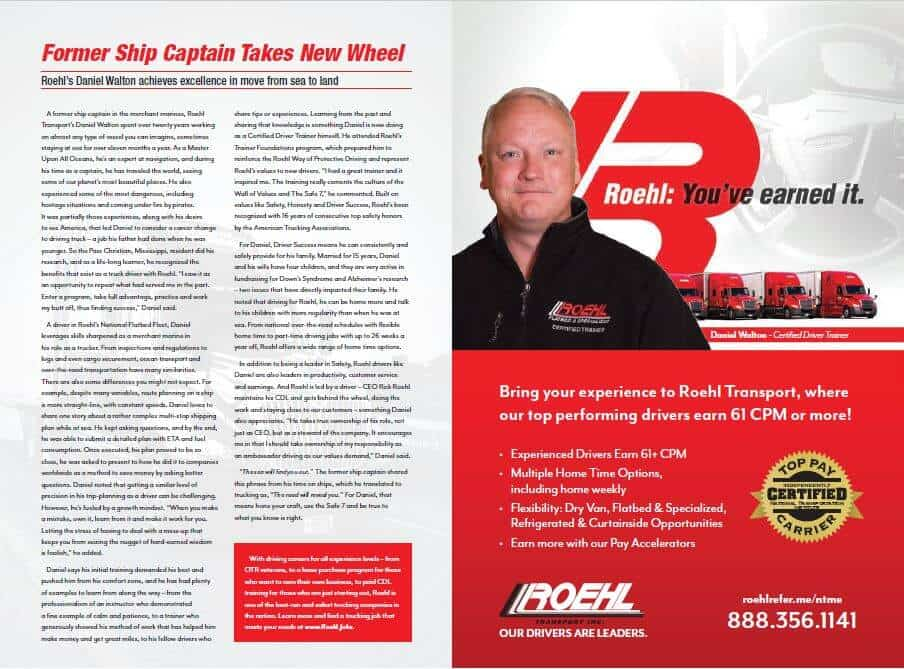 Daniel Walton in National Truckin Magazine