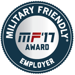 Military Friendly logo 2017