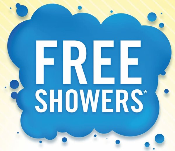 Roehl drivers get FREE showers! Teaser