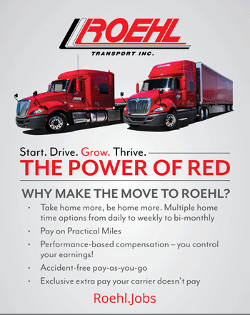 Why Join Roehl Transport