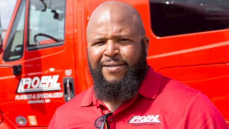 Roehl's Joe Campbell Wins Transition Trucking: Driving to Excellence Award Teaser