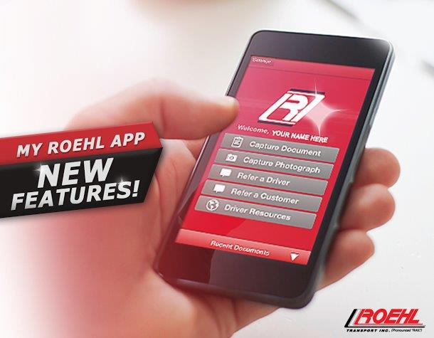 More Powerful MyRoehl Smartphone Trucker App  Teaser