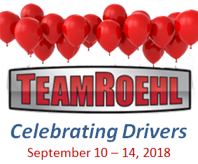 2018 TeamRoehl Socials & Driver Appreciation Week Teaser