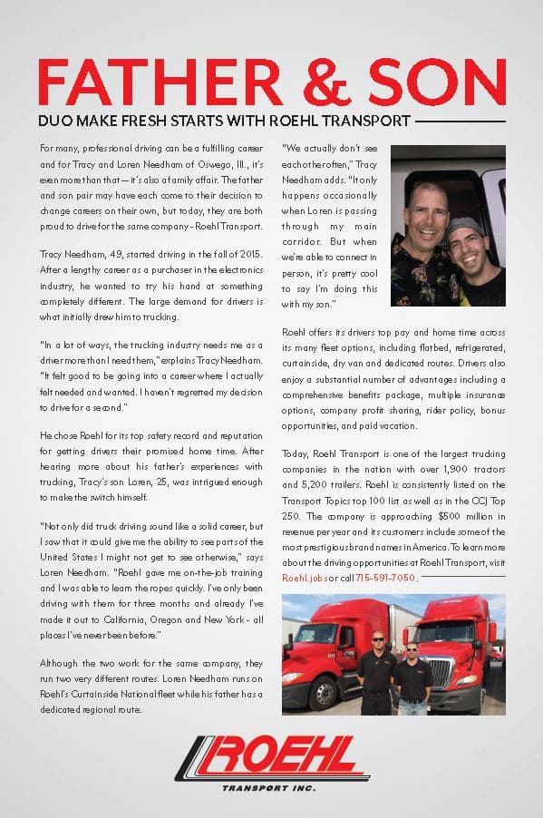 September Trucking 2017 magazine article