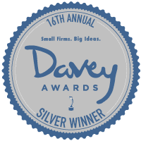 Roehl is a Davey Award winner!