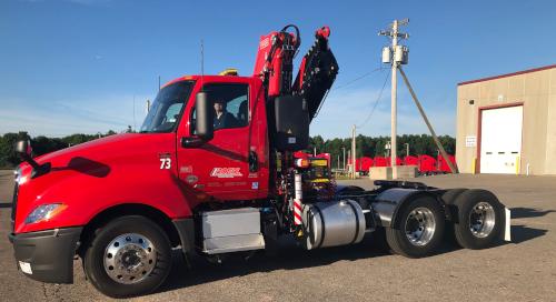 Roehl Transport Crane Truck 2019