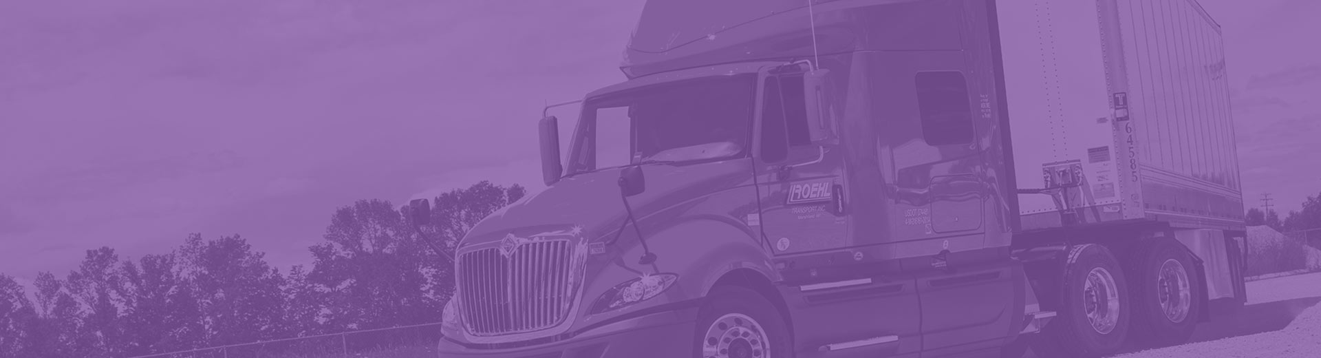 Roehl's on the job training provides prepares you for a career as a professional truck driver.
