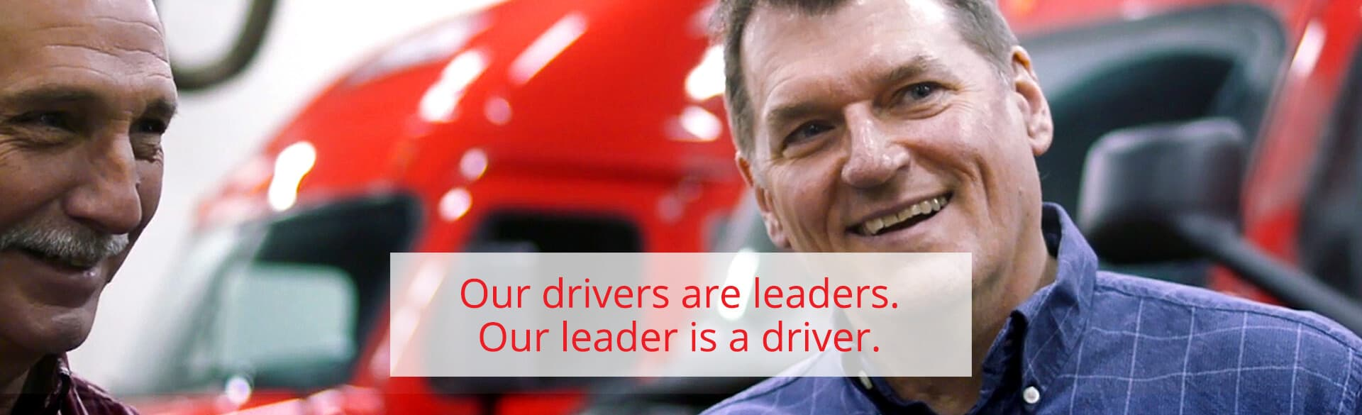 Our drivers are leaders. Our leader is a driver. Teaser