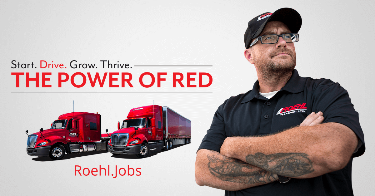Roehl Transport Truck Driving Jobs & CDL Training | Roehl Jobs