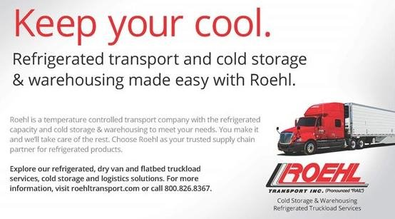 Roeh Refrigerated and Cold Storage and Warehousing ad