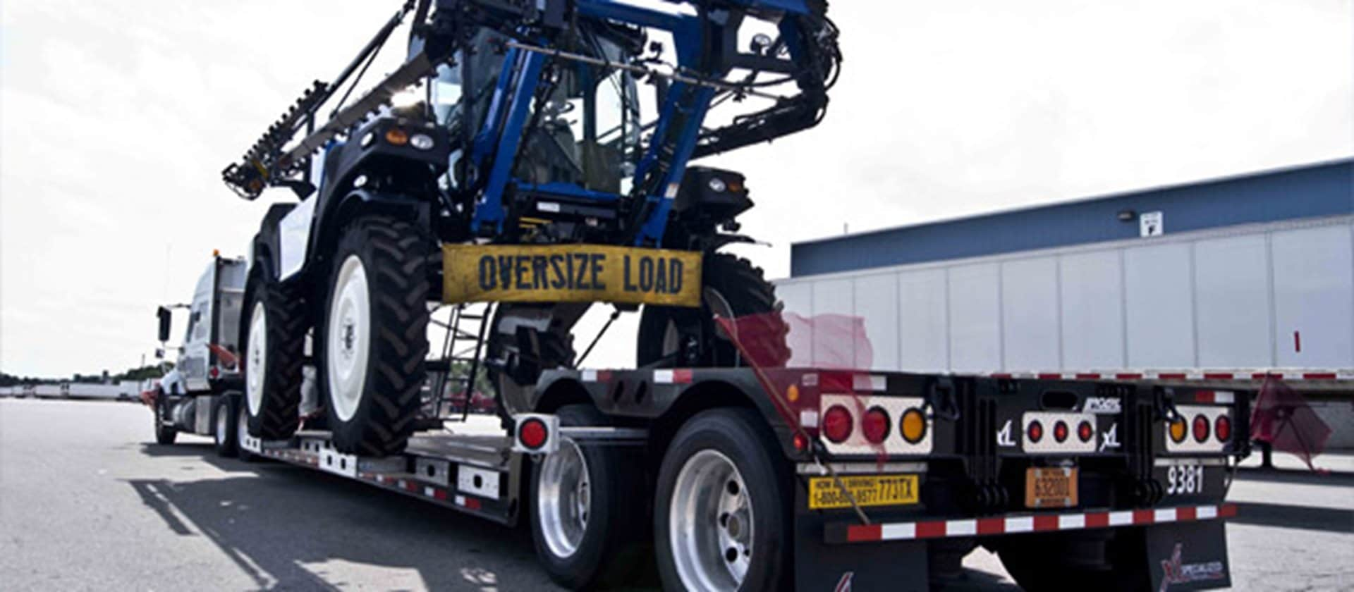 Over-dimensional & Specialized Truckload Services