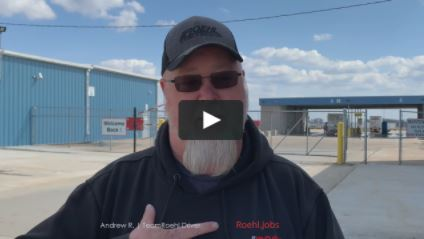 Professional Truck Driver Andrew talks about Roehl's address to address mileage pay