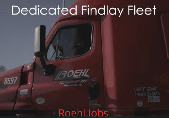 Dedicated Findlay Retail Fleet Video Overview Teaser