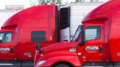 Roehl's Refrigerated National Fleet Truck Driving Jobs Video Overview Teaser